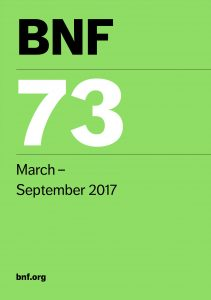 BNF 73 March-September 2017