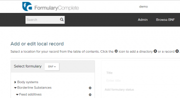 FormularyComplete documents